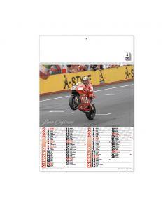 MOTO GP - calendari bimensile moto GP