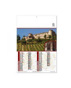 DIVINO - calendario bimensile a tema vino