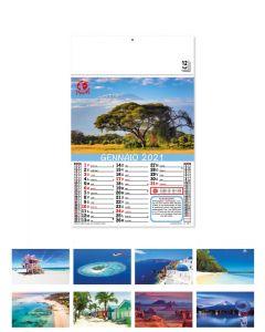 VOYAGE - calendario mensile a tema viaggi