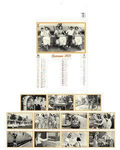VINGTIEME - calendari trimensili in stile retrò