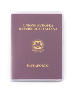 PASSPORT - porta passaporto in PVC trasparente