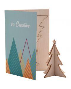 CREAX - biglietto auguri natalizio, albero