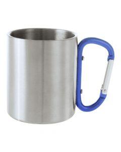 BASTIC - tazza in metallo con moschettone