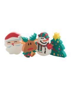 FLOP - set di gomme per cancellare, forme natalizie