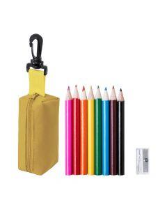 MIGAL - set matite colorate in custodia con zip
