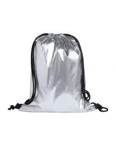 ALEXIN - borsa con coulisse con superficie metallica