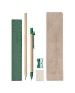 GABON - set di cancelleria con scatola in cartone