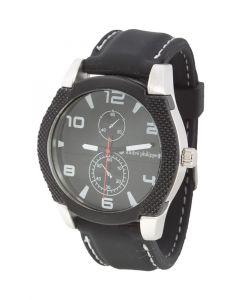 MARQUANT - orologio da uomo in metallo e cinturino in silicone