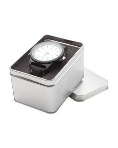 SOLDAT - orologio da uomo in metallo e cinturino in silicone