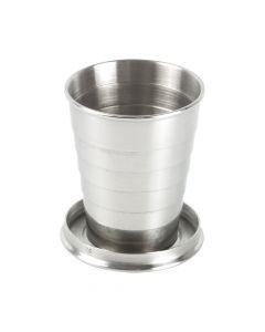 NAUTILUS - tazza in acciaio inox pieghevole