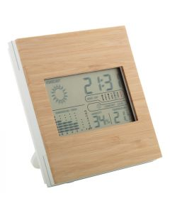 BOOCAST - stazione metereologica in bambù