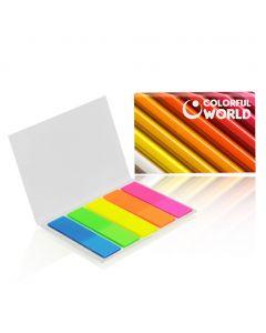 BOOKMARKS - set di segnapagina colorati