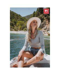 THC BUCHAREST WOMEN - T-shirt a manica lunga da donna