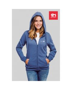 THC AMSTERDAM WOMEN - Felpa da donna, con zip e cappuccio