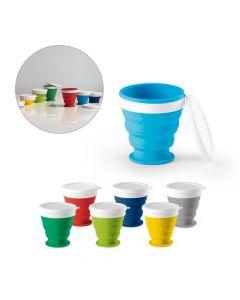 ASTRADA - Bicchiere da viaggio pieghevole da 250 ml