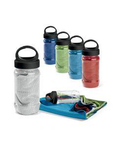 ARTX PLUS - Asciugamano sportivo con borraccia