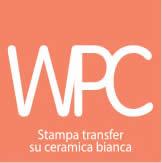 Stampa transfer su ceramica bianca