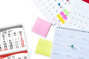 Calendari promozionali come gadget personalizzati aziendali